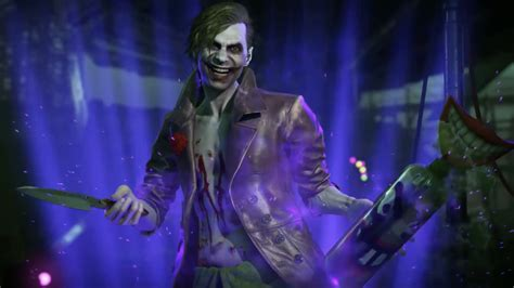 imagenes de joker injustice harley quinn cutscene reveals how the joker returns in