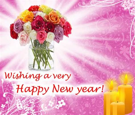 123 new year greeting ecards colourful flowers free happy new year ecards greeting