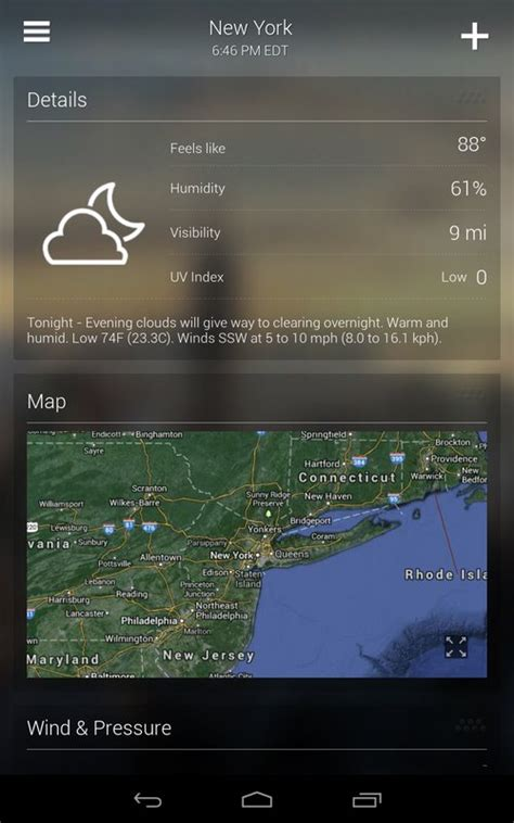yahoo screen apk yahoo weather apk free weather app for android apkpure
