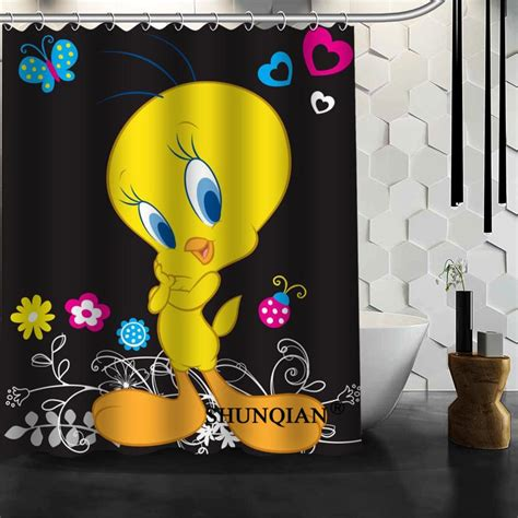 tweety bird shower curtain baby tweety bird shower curtain christmas decorations for