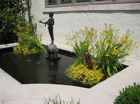 small formal pond photographed by moll dunn