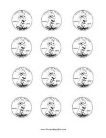 printable paper penny to color