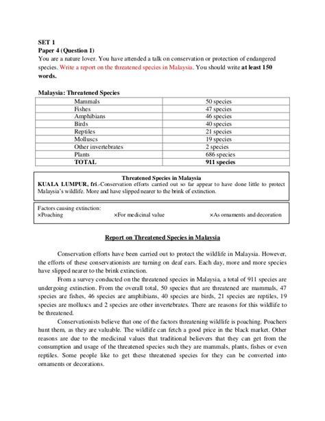 Muet Report Writing Tips by Writing Muet