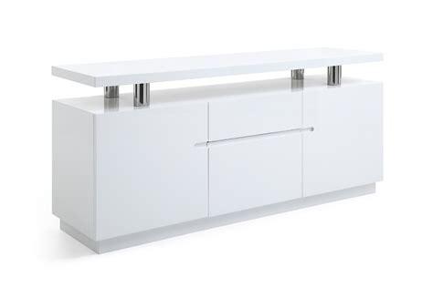 White Credenza Modern modrest stanford modern white office credenza