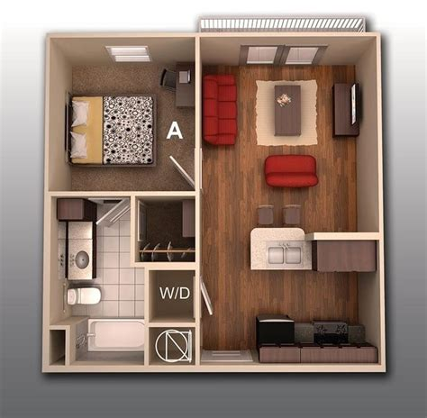 one room house designs 1 bedroom apartment house plans