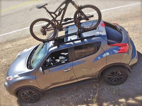 Roof Rack For Nissan Juke by Custom Thule Roof Rack Bike Rack Install