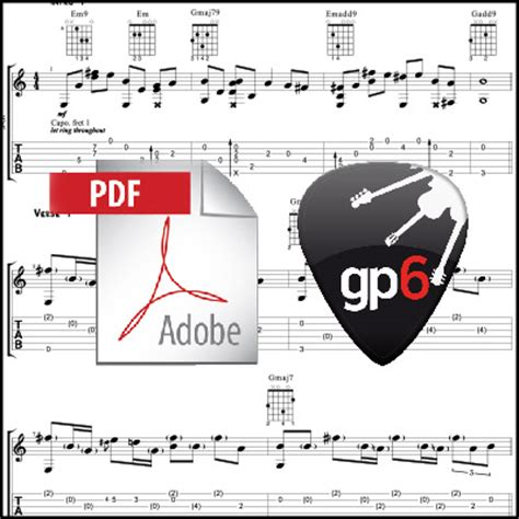 fingerstyle tutorial hello hello adele acoustic guitar arrangement pdf gpx