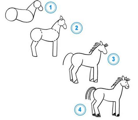 doodle zeichnen lernen pferd zeichnen lernen tiere zeichnen lernen zeichnen
