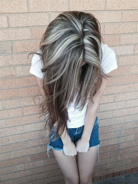 A Darker Haired Wants To Adopt by Color Highlights For Those Who Want To Keep