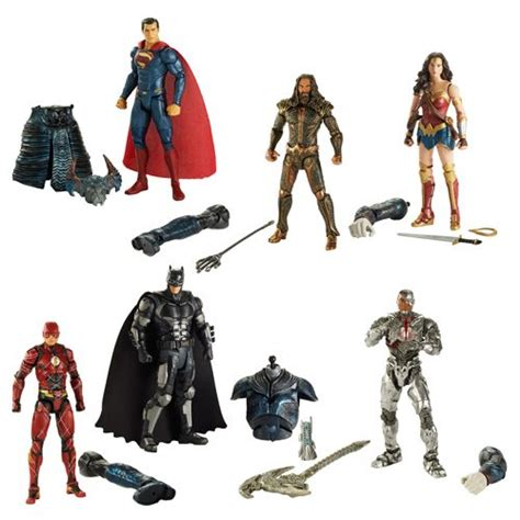 Home Designer Pro by Justice League Movie Multiverse 6 Inch Action Figure Set