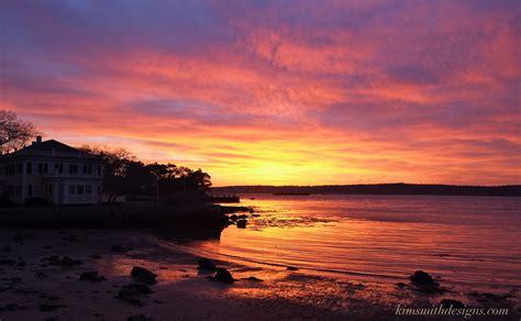 Niles Beach Sunset Goodmorninggloucester Harbor House Sunset