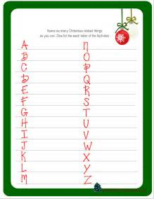Printable make a christmas related word game this is another fun game