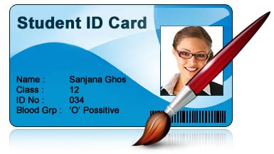 student id card template png student id cards maker design id cards for students