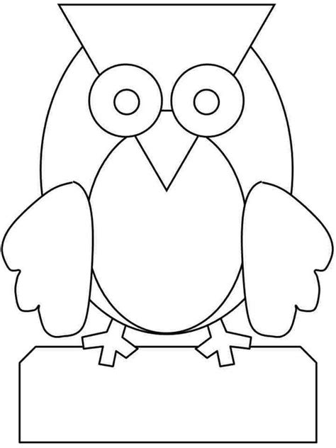 owl coloring pages preschool pinterest the world s catalog of ideas