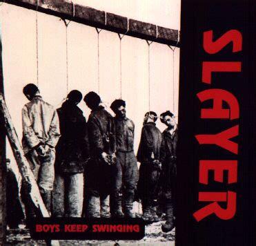 boys keep swinging slayer boys keep swinging vinylmail