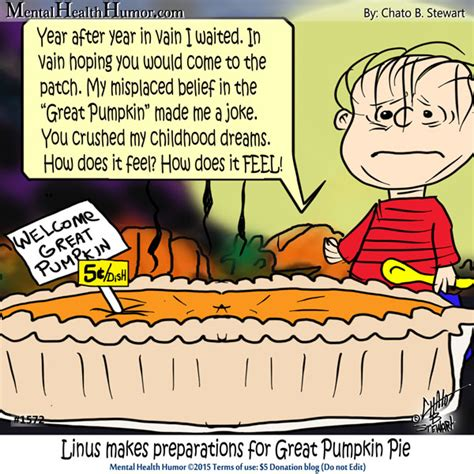 pumpkin jokes greatpumpkin pie mental health humor