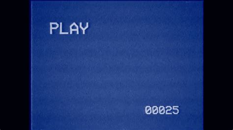 play in background vhs play screen images