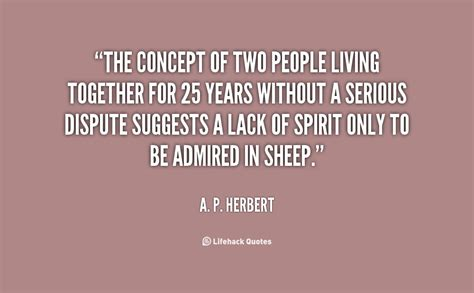 5 things to consider before living together collage center a p herbert quotes quotesgram