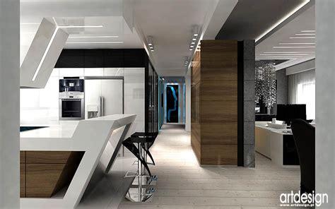 nowoczesny layout wnętrze domu poznań projektowanie wnętrz artdesign