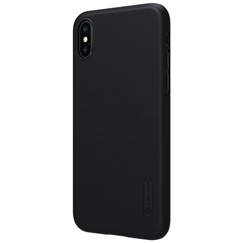 Nillkin Frosted Iphone X nillkin frosted anti fingerprint pc shockproof
