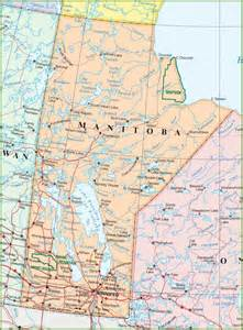 map of manitoba canada large detailed map of manitoba with cities and towns