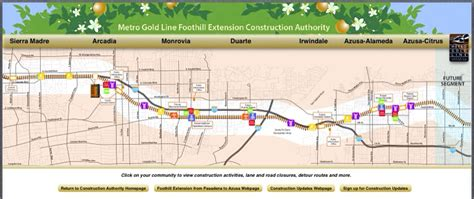 metro gold line map new interactive map to track construction of the gold line foothill extension the source