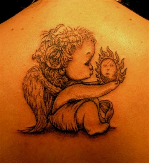 baby angel tattoos baby tattoos designs ideas and meaning tattoos
