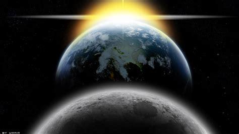 Earth Moon And Sun earth moon and sun by thehunterminater on deviantart