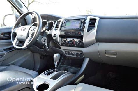 Toyota Tacoma Interior Dimensions by 2014 Toyota Tacoma Navi Leather Interior Heated Front Seats Richmond Columbia