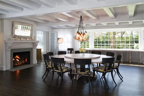 the circular dining room photos hgtv