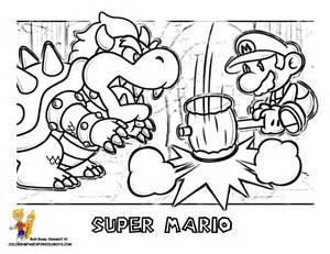 super mario printables super mario free mario brothers coloring cartoon