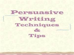 Tips For Writing A Persuasive Essay by Rhetorical Strategies Ppt