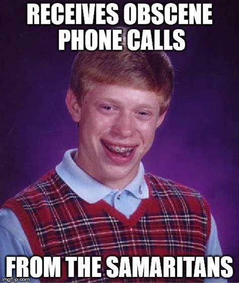 Obscene Memes - bad luck brian meme imgflip