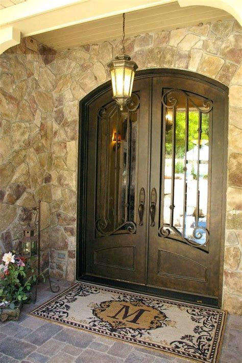 Fascinating Front Door Iron Gate Inspirations Ideas Apse Co Iron Front Doors For Homes