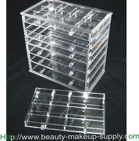 Acrylic Makeup Organizer With Drawers Kardashians by Deluxe Acrylic 7 Drawer Cosmetic Organizer Drawer W