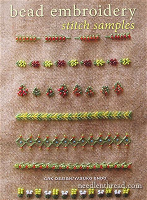 bead embroidery stitch sles motifs books review