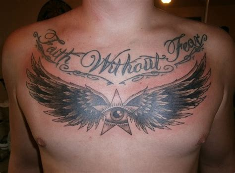 tattoo angel wings chest 15 chest tattoo font ideas for men tattoos for men