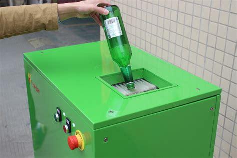 trash crusher bottle crushers for crushing plastic bottles and glass bottles