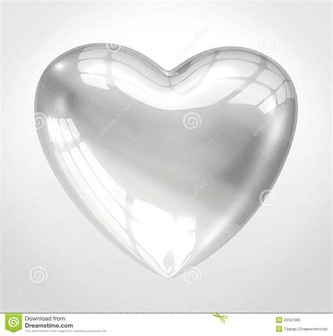 shiny glass heart royalty free stock photo image 29101095