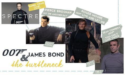 james bond film in cinema james bond spectre fashion the 007 turtleneck and more