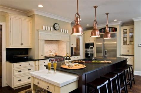 copper kitchen lights beautiful kitchen ceiling light design ideas rilane