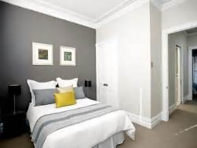 White Wall Bedroom Ideas white walls with dark grey feature wall for the hall bedroom