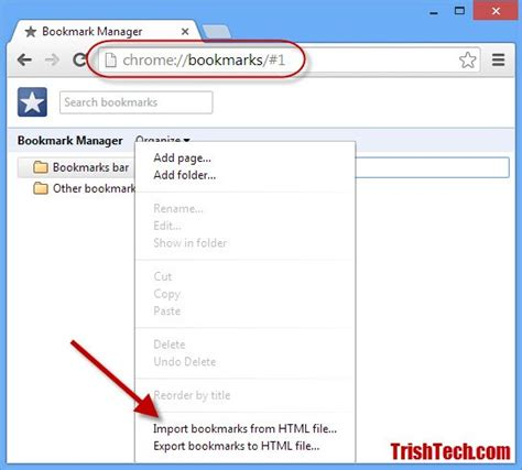 chrome export bookmarks how to import or export bookmarks in google chrome