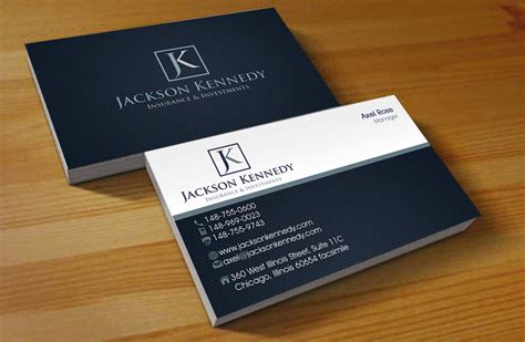 designs for insurance adjuster business card template serious professional business card design for aaron