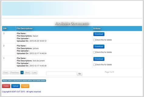 tutorial upload gambar php mysql file upload using php and mysql free source code