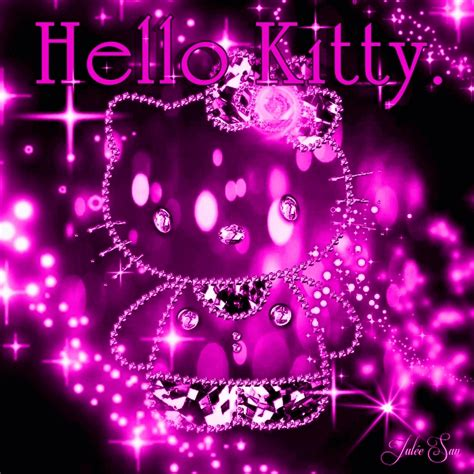 gambar kartun  kitty comel animated gif lucu bergerak