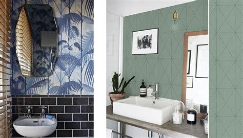 Charmant Humidite Dans Une Chambre #5: papier-peint-salle-de-bain-1050x600.jpg
