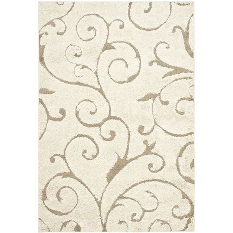 floral pattern cdr file blue gradient colour style 3 3 x 5 3 shag area rug in beige off white with scrolling