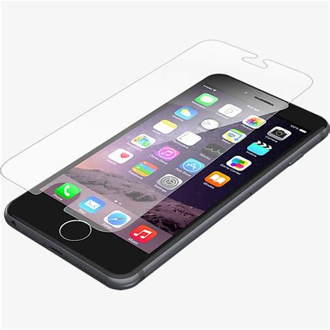 zagg invisibleshield glass screen protector  iphone