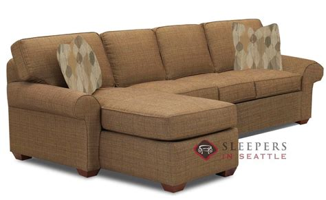 Sofa Sleeper With Chaise Customize And Personalize Seattle Chaise Sectional Fabric Sofa By Savvy Chaise Sectional Size